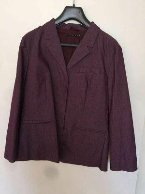 Stefanel Trouser Suit dark violet cotton