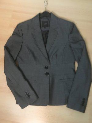 Zero Tailleur-pantalon gris-gris foncé polyester
