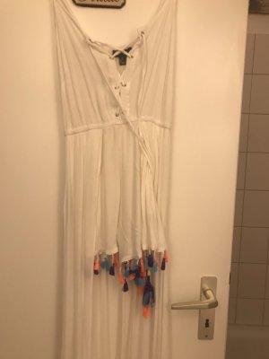 Sukienka plażowa biały