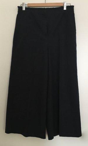 Pantalone a 3/4 blu scuro Cotone