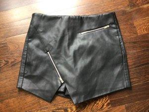 Zara Basic Jupes-culottes noir