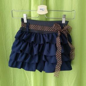 Falda pantalón azul oscuro