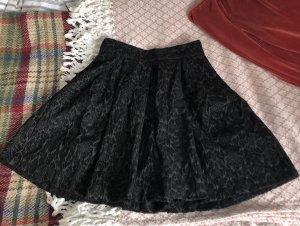 Benetton Jupes-culottes noir-gris anthracite