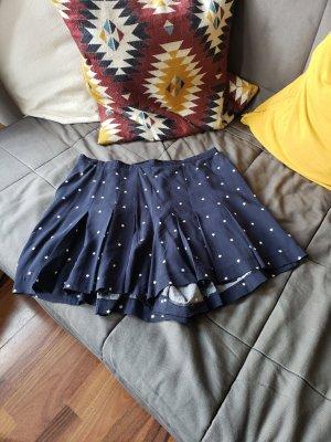 Springfield Minigonna bianco-blu scuro