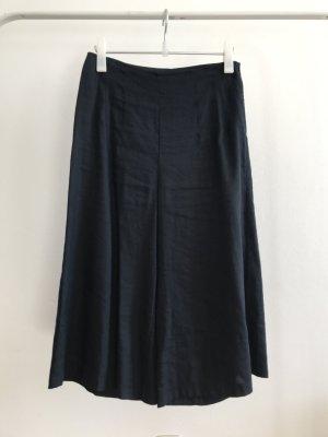 someday Pantalone di lino blu scuro Lino