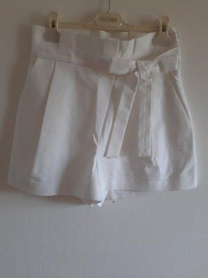 Zara Trafaluc Falda pantalón blanco