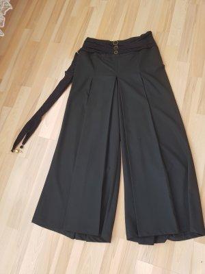 Modanisa Pantalon palazzo noir-doré