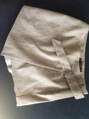 Zara Jupes-culottes marron clair-gris brun