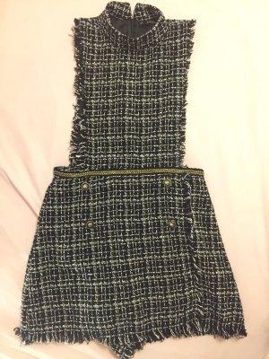 Hosenrock Jumpsuit im Chanelstil