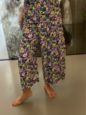 Zara Jupes-culottes multicolore viscose