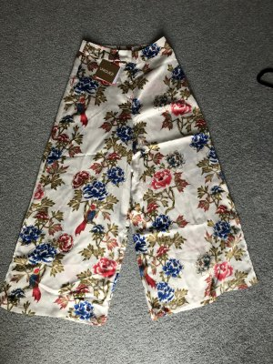 unique21 Pantalone culotte multicolore