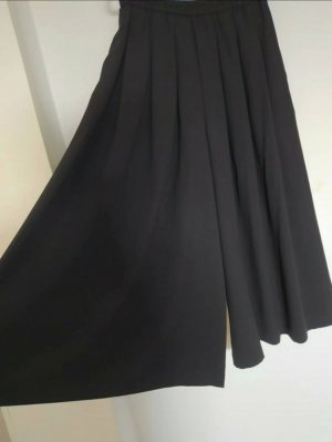 Uniqlo Jupes-culottes noir polyester