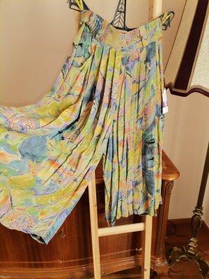 Vintage Culotte Skirt multicolored