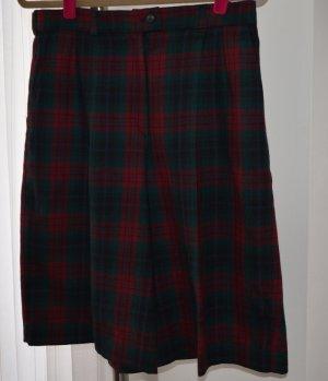 Falda pantalón multicolor lana de esquila