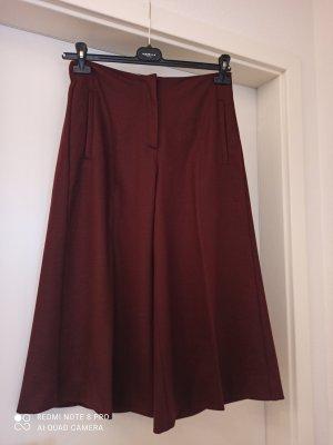 Marella Falda pantalón burdeos