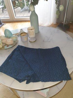 Zara Falda pantalón azul