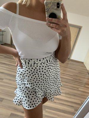 Zara Jupes-culottes blanc-noir
