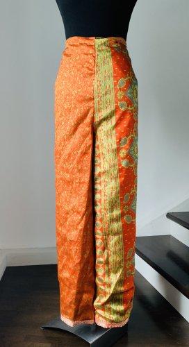 Hosenrock zum Wickel aus reiner Seide, S-XL geeignet