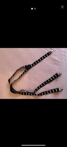 Bretelles noir-blanc