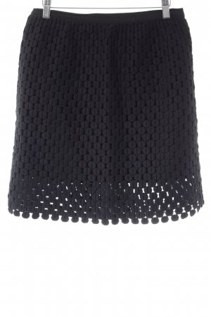 Hoss High Waist Rock schwarz minimalistischer Stil