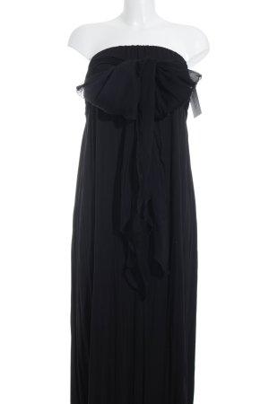 Hoss Intropia Vestido bandeau negro elegante