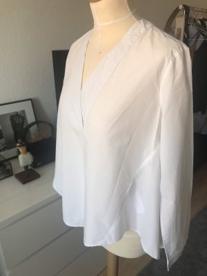 Hoss Intropia Baumwolle Bluse in Weiß