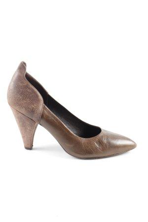 Hoss Intropia High Heels bronzefarben Business-Look
