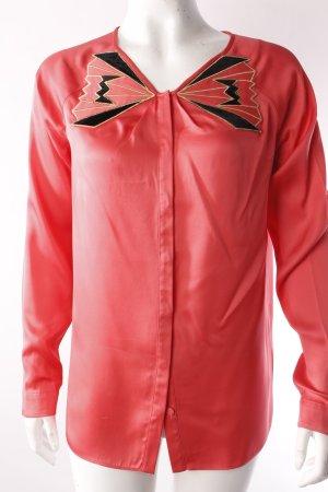 Hoss Intropia Langarm-Bluse rosa
