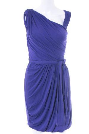 Hoss Intropia One-Shoulder-Kleid dunkelviolett Elegant
