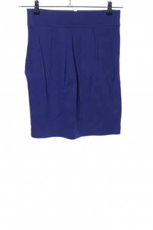 Hoss Intropia Stretchrock blau Casual-Look