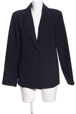 Hoss Long-Blazer schwarz Business-Look