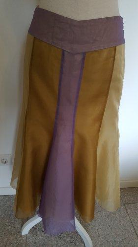 Hoss Jupe en soie multicolore