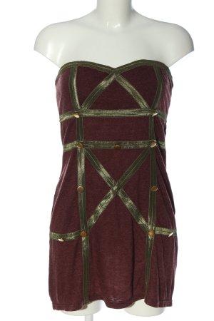Hot & Delicious schulterfreies Kleid