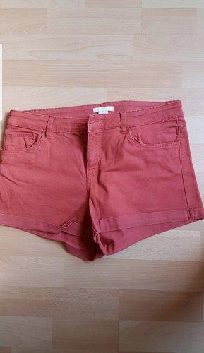 H&M Hot pants lichtrood
