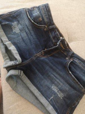 LTB Short en jean bleu