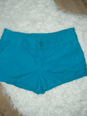 H&M Divided Hot pants blu cadetto