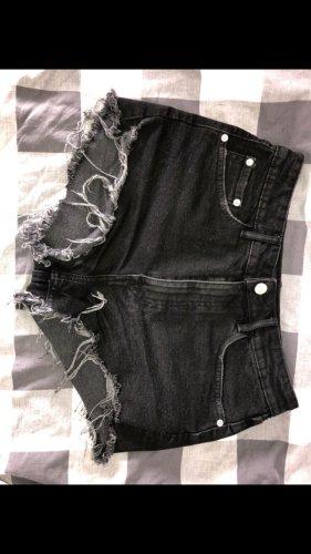 Hot pants high rise jeans ZARA