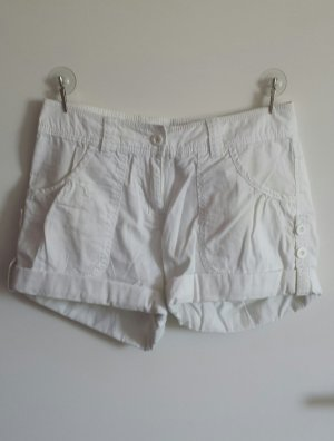 FlashLights Short Trousers white