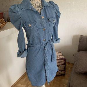 HoT! Sexy Jeans-Kleid/Mini - LightBlue - Mit Gürtel! Größe S 34/36 Neu!
