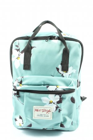 hot style School Backpack allover print casual look