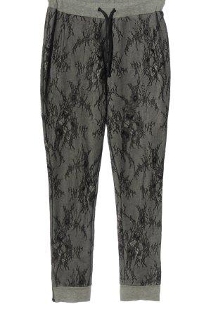 Hotel Particulier Spodnie dresowe jasnoszary-czarny W stylu casual