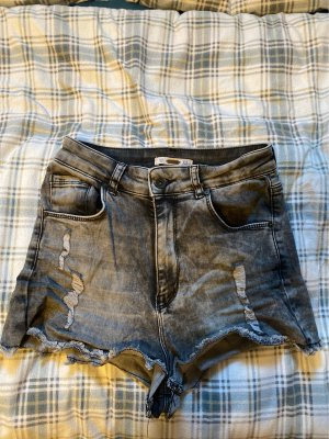 Anti Blue Hot pants zwart-grijs
