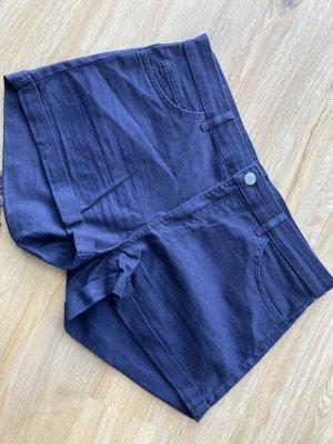 Hotpant blau