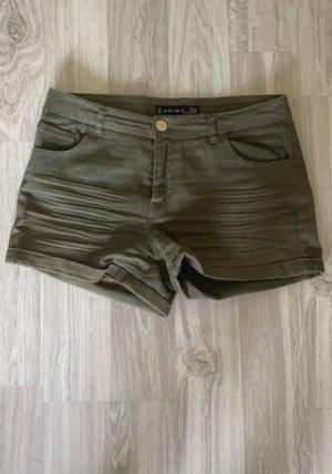 Amisu Hot Pants green grey
