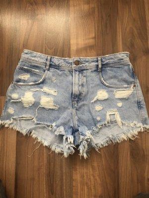 Hotpant / Jeans Short used look Zara