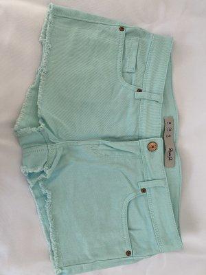 Denim Co. Shorts turquoise