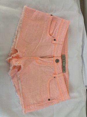Denim Co. Shorts neon orange
