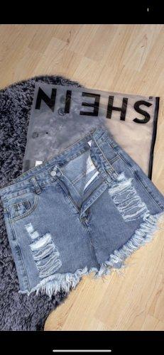 Sheinside Shorts blue