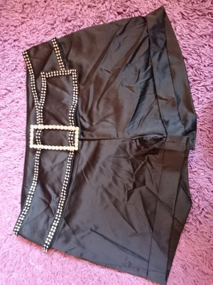 Melrose Hot pants nero Poliestere