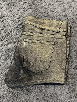 H&M Divided Hot pants goud-donkerblauw